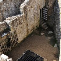 Carisbrooke Castle - top of the tower, Ньюпорт