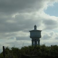 Gawthorpe Water Tower, taken from Huntsman pub on Chidswell Lane, Оссетт