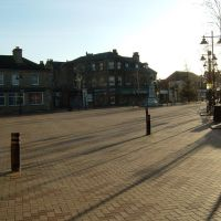 View across Market Square - Ossett, Оссетт