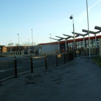 Ossett New Bus Station 2007 (taken from Prospect Road), Оссетт