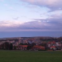 View looking east over Horden to the sea, Петерли