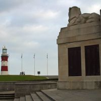 Naval Monuments Lion & Smeatons Tower, Плимут