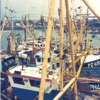 FISHING BOATS  CALLED CARRICK WAS AT CARRICKFERCUS AT THE TIME OF TAKEING COME FROM PENZANCE CORNWALL, Плимут