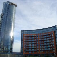 Modern Buildings in Gunwharf Quays, Портсмут