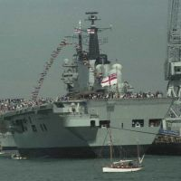 Open house on the Ark Royal R-07 - 28 Aug 1998, Портсмут