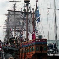 "Replica of Henry Cabots ship the ""Matthew"" - Aug 1998, Портсмут"