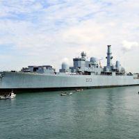 HMS Bristol, Портсмут