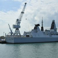 Type 45 destroyer ~ Dauntless, Портсмут