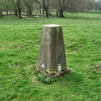 Knowsley Park Triangulation Pillar (Prescot) (Photo courtesy of A Brown), Прескот