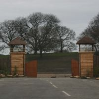 Knowsley Safari Park - Entrance Gates, Прескот