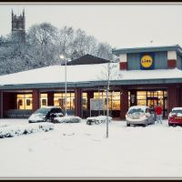 Lidl - Strand Road - Preston, by Paul B, Престон