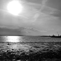 Poole harbour from the Baiter, Пул