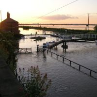 Bardney Locks flooded, Рагби