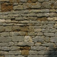 Wall detail - Buslingthorpe Church, Lincolnshire, Рагби