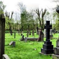Bury 91 ( panorama na cmentarz w HDR ), Радклифф