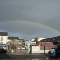 Rainbow in Radcliffe viewed from Colour Anodising by SteMoonShineMcGee, Радклифф