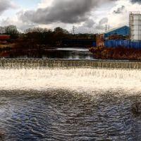 Bury 233 ( panorama na wodospad w HDR ), Радклифф