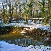 snowy stream in smallbrook, Райд