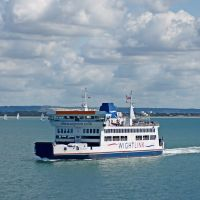 Passing Ferries, Fishborne to Portsmouth, Райд