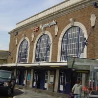 Железнодорожный вокзал в городе Рамсгейт., Рамсгейт