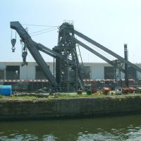 250 Ton Floating Crane (Steam/Electric) Built By Werf Gusto Ltd (Firma A. F. Smulders) Schiedam Holland., Ранкорн