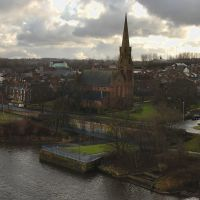 Runcorn from the bridge, Ранкорн