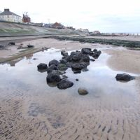 Redcar Beach rock pool, Редкар