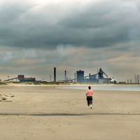 The Corus Steelworks from Redcar, Редкар