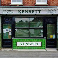Kensett Family Butcher, Reigate, Рейгейт