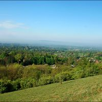 View towards Box Hill from Reigate Hill, Рейгейт