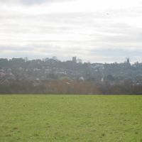 Rayleigh skyline from Sweyne Park, Рейли