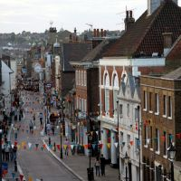 High Street, Rochester UK, Рочестер