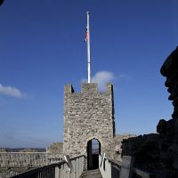 Battlements, Rochester Castle, Рочестер