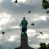 Monument in Mobwray Park, Sunderland, Сандерленд