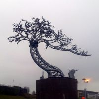 Metal tree sculpture by the River Wear, Sunderland by Safc_cal, Сандерленд