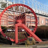 Wearmouth Colliery Winding Wheel : Sunderland, Сандерленд