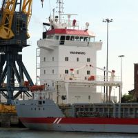 General Cargo Vessel (Maineborg) : Unloading : Port of Sunderland, Сандерленд