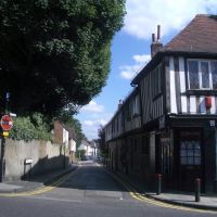 Sopwell Lane in St. Albans, Сант-Албанс