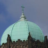 Copper Covered Dome on St Marys Lowe House., Сант-Хеленс