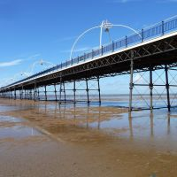 Marine Drive Pier, Southport., Саутпорт