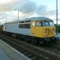 56 311 at Swinton (South Yorkshire), Свинтон