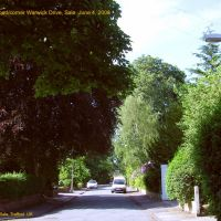 Clarendon Road from Warwick Drive to Northenden Road: Sale, Сейл