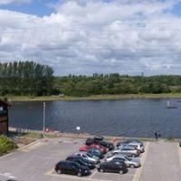 Sale Water Park from M60 Footbridge, Сейл
