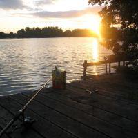 Fishing at sunset, Сейл