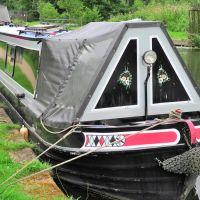 Narrow boat, Bridgewater Canal - Urmston, Trafford M32 8, England, United Kingdom, Сейл