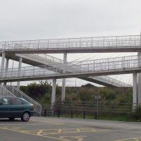 Bridge Over M60, Sale Water Park, Cheshire, England. UK      www.mickaul.co.uk, Сейл