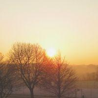 Sunrise over Turn Moss, Сейл