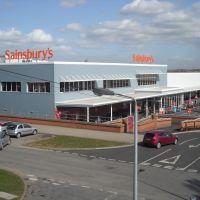 Sainsburys Store - Scunthorpe 31-3-2011, Сканторп