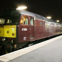 West Coast Railways 47854 at Scarborough Station 7th November 2008, Скарборо