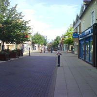 Looking down High Street, Solihull, Солихалл